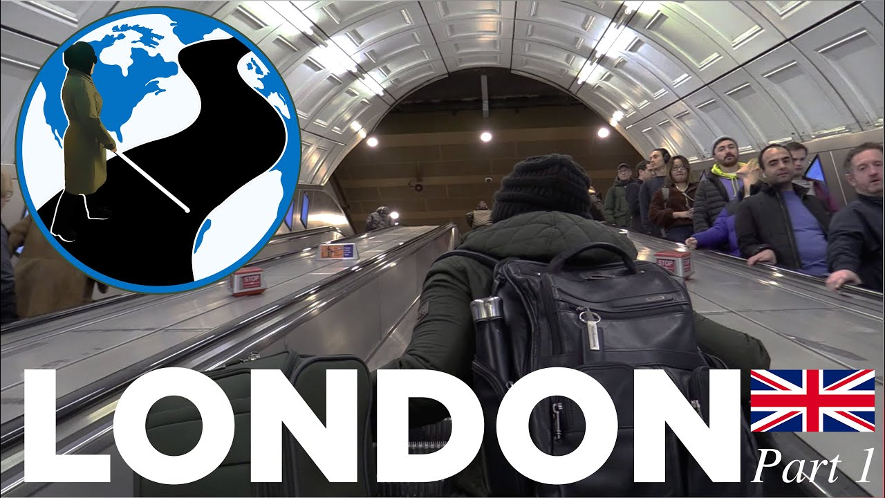 A thumbnail for The Power of Choice - London Episode 2 Part 1. Mona heading up a busy London underground escalator. Superimposed on the image is the PTC Logo.